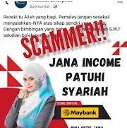 Jana Incom Patuhi Syariah Guna Gambar Nur Heliza Helmi?