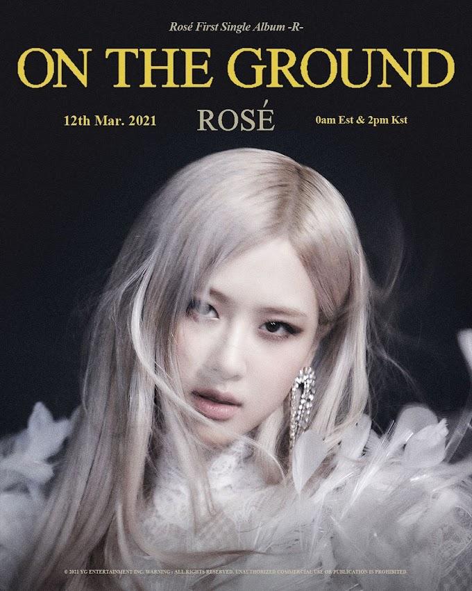 ROSÉ - 'On The Ground' | Blackpink Lyrics