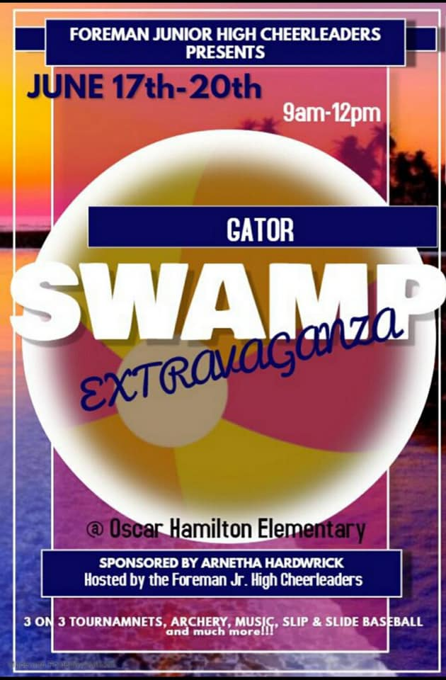 Gator Swamp Extravaganza Summer Camp will have it all for kids in Foreman