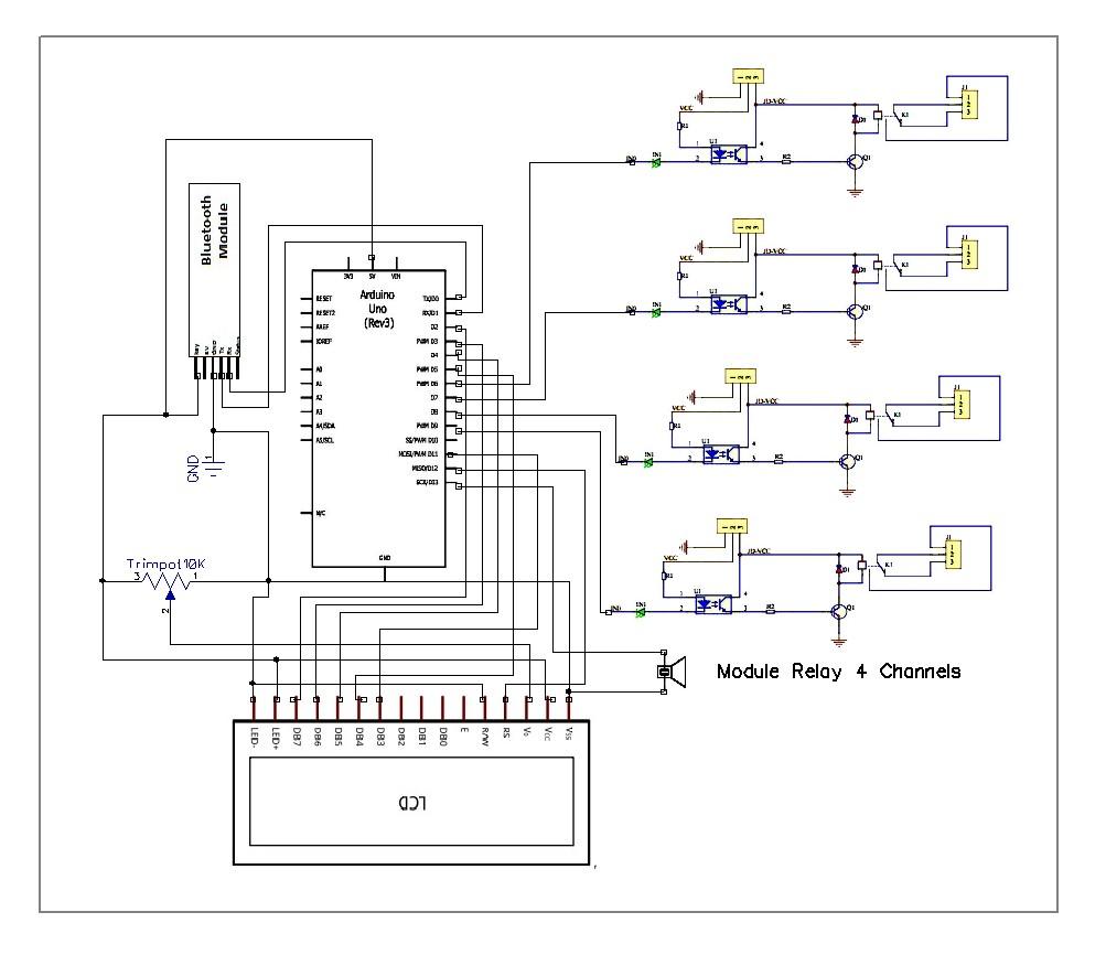 Cara Menggambar Skema Rangkaian dan Wiring Diagram