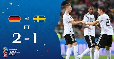ملخص مباراة ألمانيا والسويد 2018/06/23 روسيا 2018
