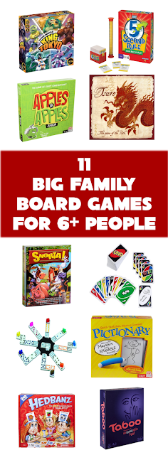 Unremarkable Files 11 Big Family Board Games For 6