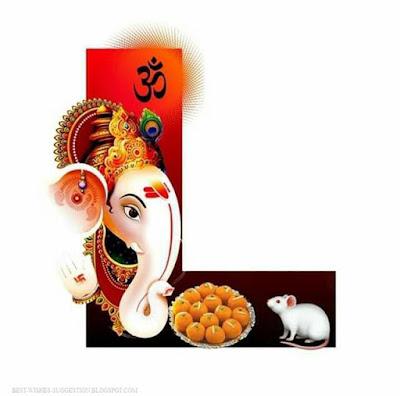 Ganesha-alphabet-L-images-download
