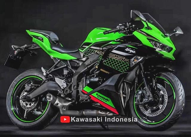Penampakan perdana Kawasaki Ninja ZX-25R 4 Silinder !