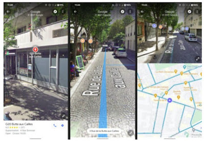 Cara Split Screen di Google Maps