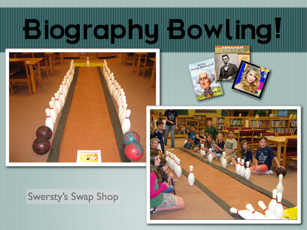 SWERSTY'S SWAP SHOP: Biography Bowling
