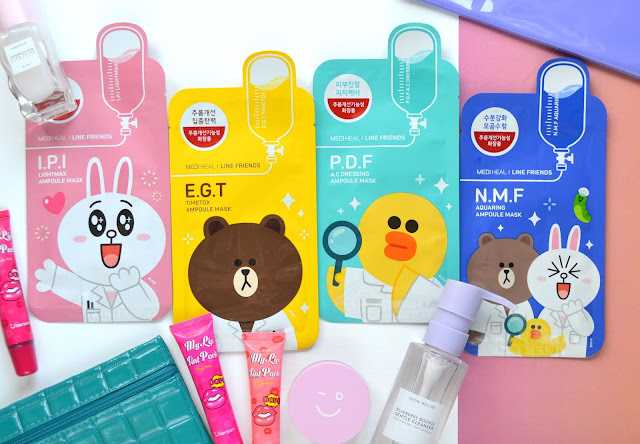 Mediheal Line Friends Edition Sheet Mask Review