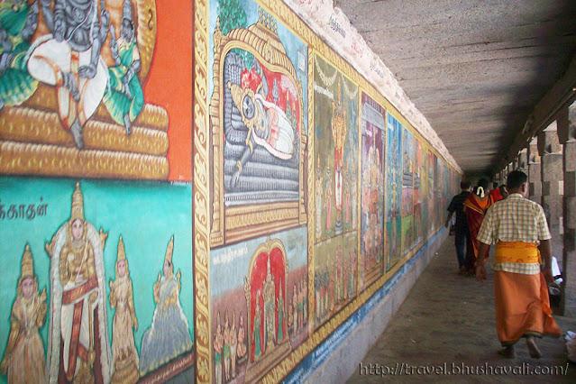 Sriperumbudur Ramanujar Temple Frescoes