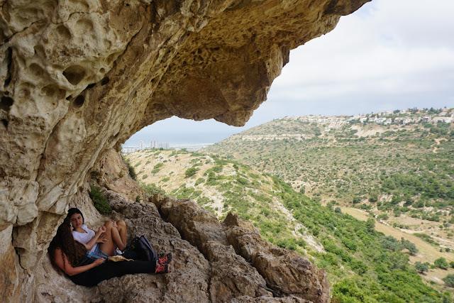 הנוף ממערות אונית
