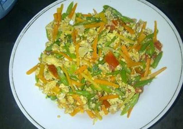 masakan sayuran orak arik