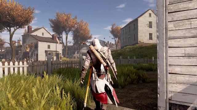 Assassin's Creed 3 Remastered 4K Ray Tracing Graphics Mod Demo Gameplay - RTGI 2021