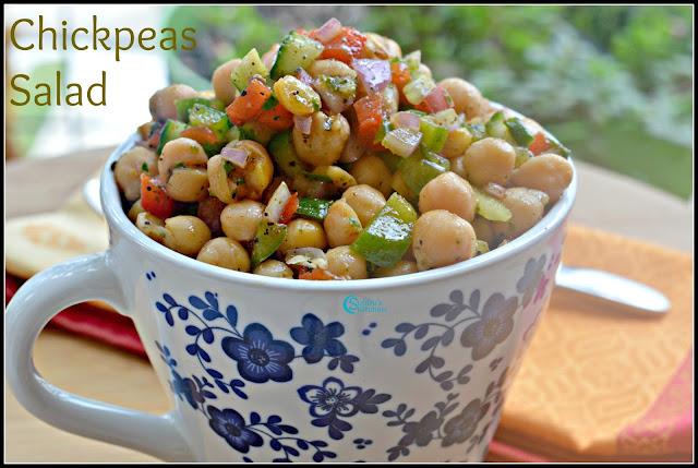 ChickPeas Salad Recipe | Chole Salad Recipe