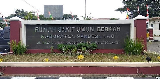 Jadwal Dokter RSUD Berkah Pandegelang Terbaru
