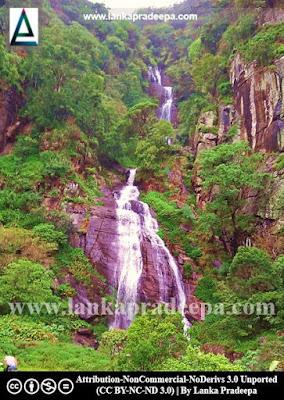Kolapathana Ella Falls, Sri Lanka