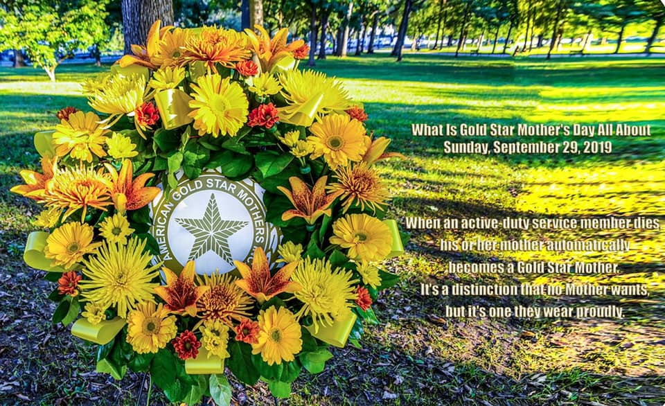 Gold Star Mother's and Family Day Wishes Sweet Images