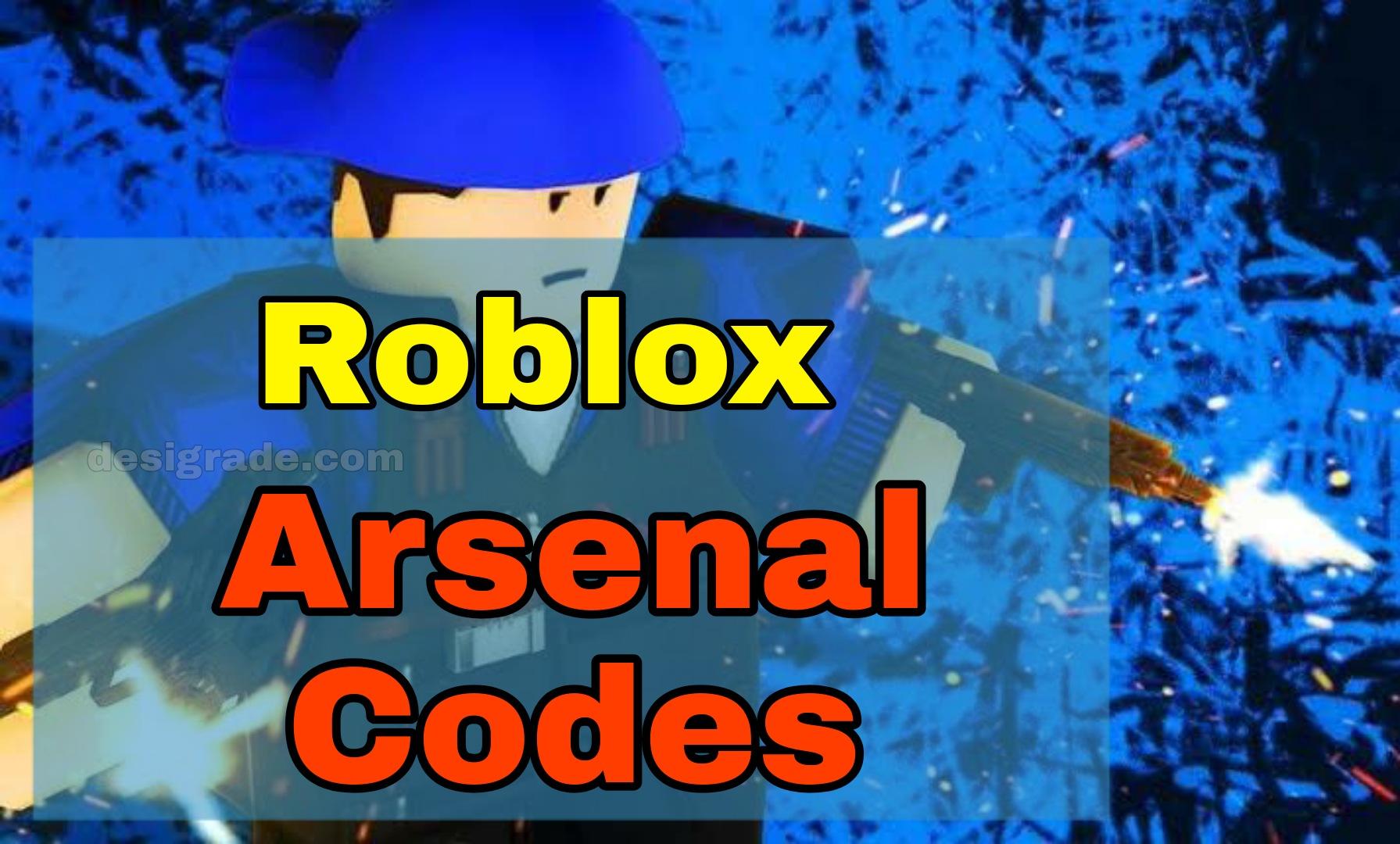 arsenal codes roblox january 2021