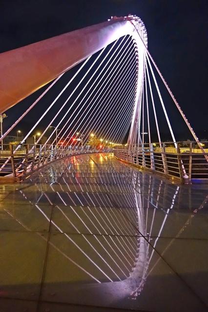 大坑粉紅情人橋~~台中大坑景點