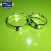 cincin permata hitam