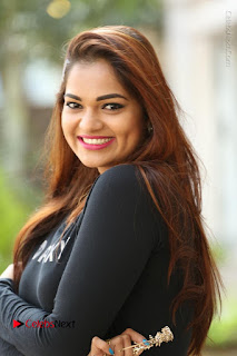 Actress Aswini Latest Stills in Black Denim Jeans  0017.JPG