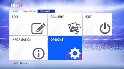 PES 2013 Theme Graphic Menu FIFA 19 by Micano4u