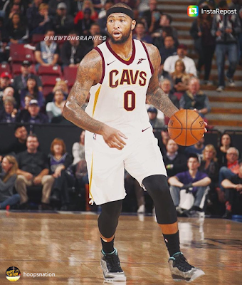 Demarcus Cousins Cleveland Cavaliers Jersey