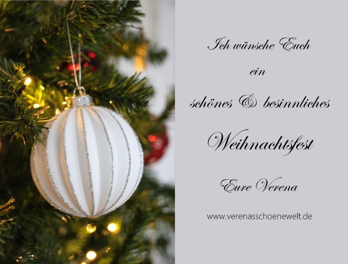 Weihnachtsgrüße & ein Rezept für Lebkuchen-Tannenbäumchen - Verena´s ...