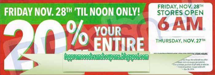 free printable christmas tree shops coupons - Christmas Tree Shop Near Me