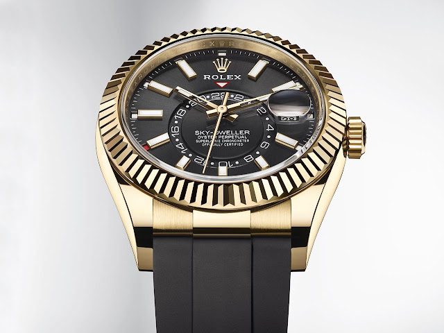 Rolex Oyster Perpetual Sky-Dweller with Oysterflex bracelet 326238