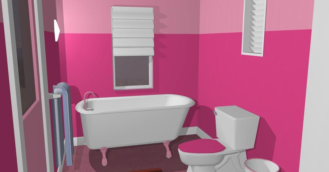 54 Perpaduan Warna Cat Tembok Pink Fanta Percantik Hunian