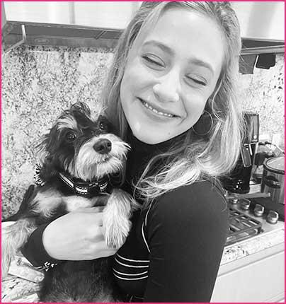 Reinhart with Nina on instagram