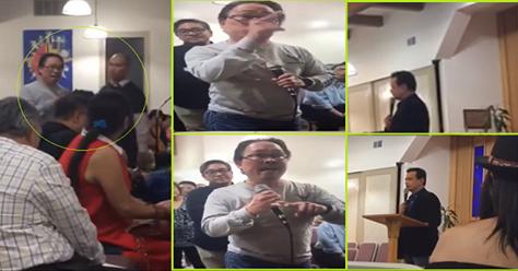 Ganito Ang Nangyaring Kaguluhan sa Speech ni Trillanes na Hindi Pinakita sa TV