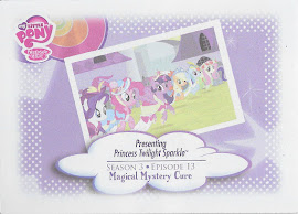 My Little Pony Princess Twilight Sparkle Series 3 Trading Card