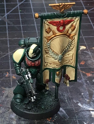 40K Blades of Vengeance Chapter Ancient WIP