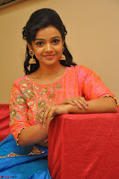 Nithya Shetty in Orange Choli at Kalamandir Foundation 7th anniversary Celebrations ~  Actress Galleries 126.JPG