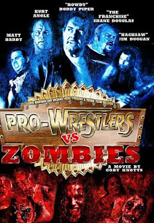 Pro Wrestlers vs. Zombies Movie Review - movie poster