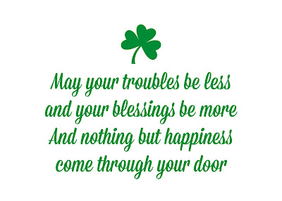 Happy St Patricks Day SMS 2018