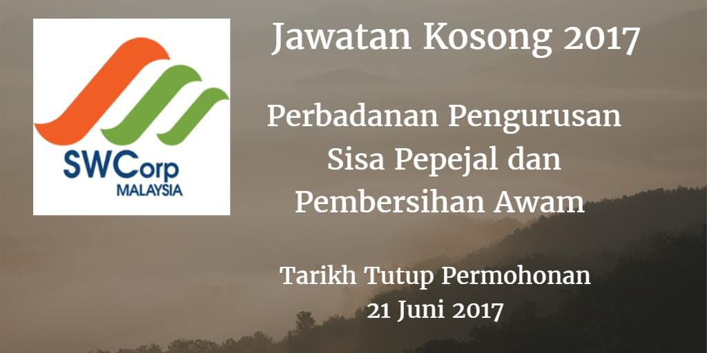 Jawatan Kosong SWCORP 21 juni 2017