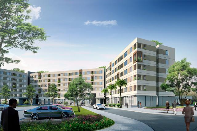 Dự án nhà ở xã hội Tiên Dương Đông Anh Green Link City chung cư tien duong