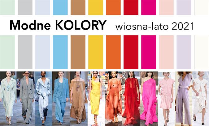 modne kolory wiosna 2021 ubrania