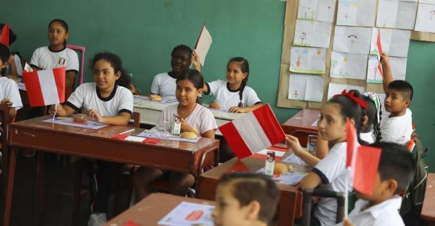 Presidente Martín Vizcarra presentará balance del Inicio del Año Escolar 2019
