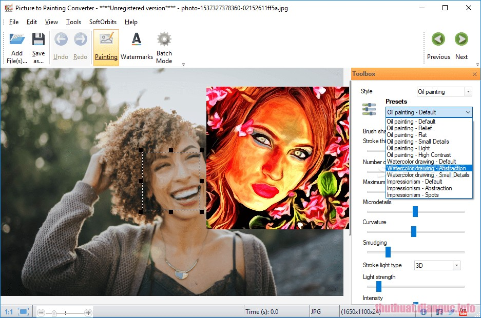 Download SoftOrbits Picture to Painting Converter 1.1 Full Crack