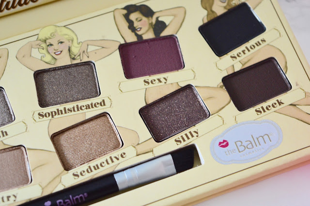 darker shades from thebalm nudetude eyeshadow palette