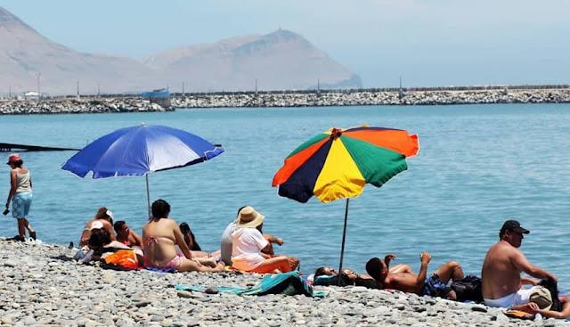 Las playas son focos de contagio del coronavirus