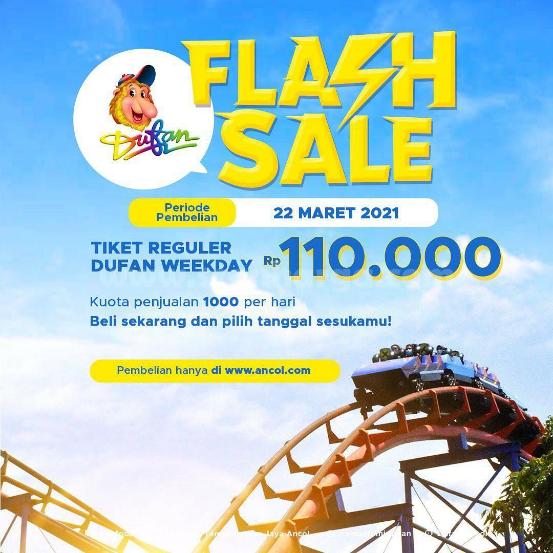 DUFAN FLASH SALE! Harga Spesial Tiket Regular Weekday Cuma Rp 110.000 /orang