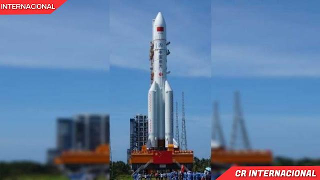 Cohete chino que se dirige sin control hacia la Tierra