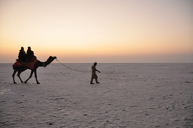 Sunset at Rann of Kutch