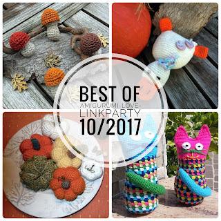 Best of Amigurumi-Love-Linkparty #10/2017