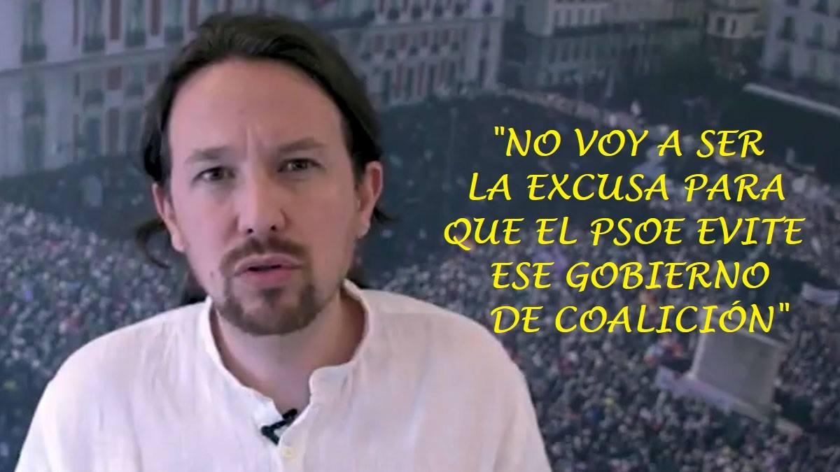 Resultado de imagen de Pablo Iglesias destapando cómo el poder no respeta la democracia