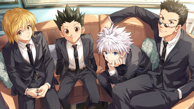 wallpaper hunter x hunter dress coat