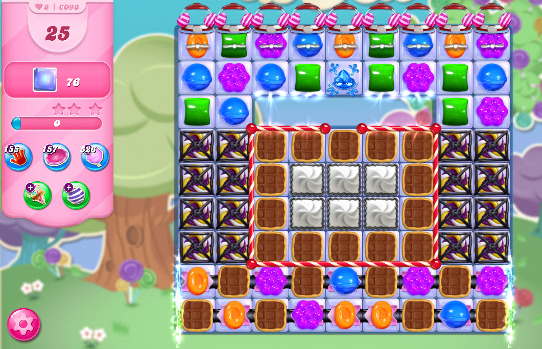 Candy Crush Saga level 6093